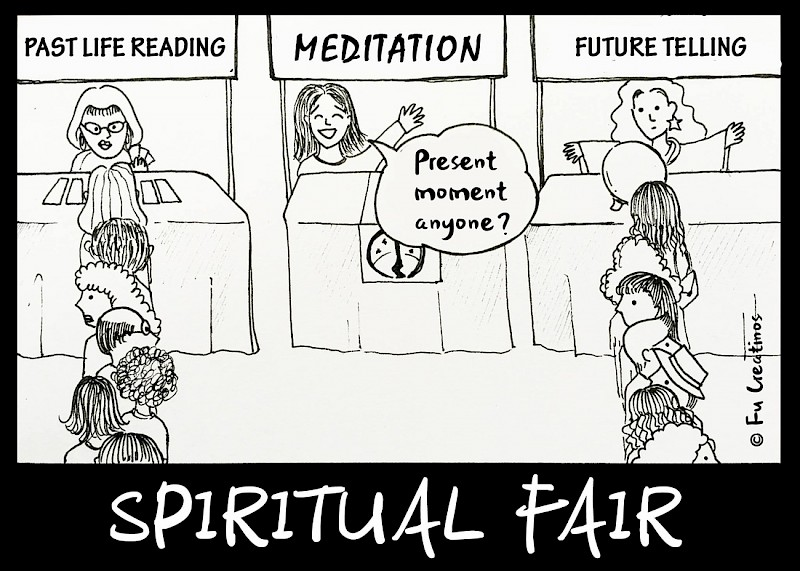 Spiritual Fair cartoon