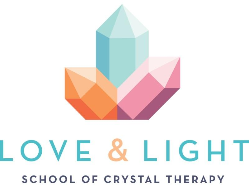 Love & Light School of Crystal Therapy logo