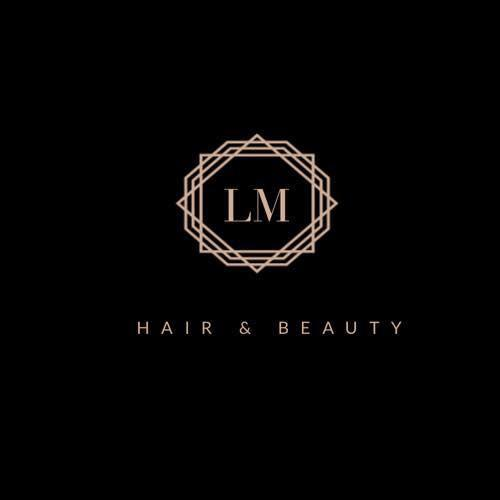 LM Hair & Beauty logo