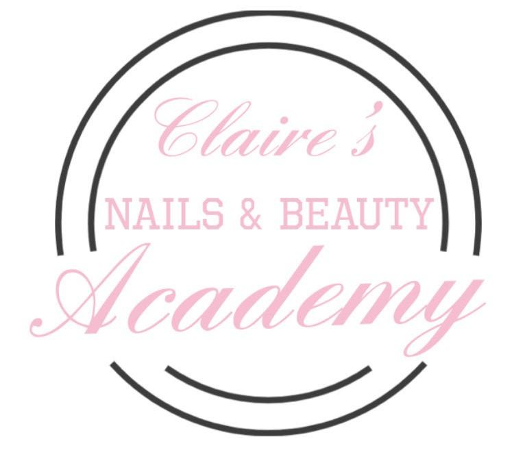 Claire's Nail and Beauty Academy logo