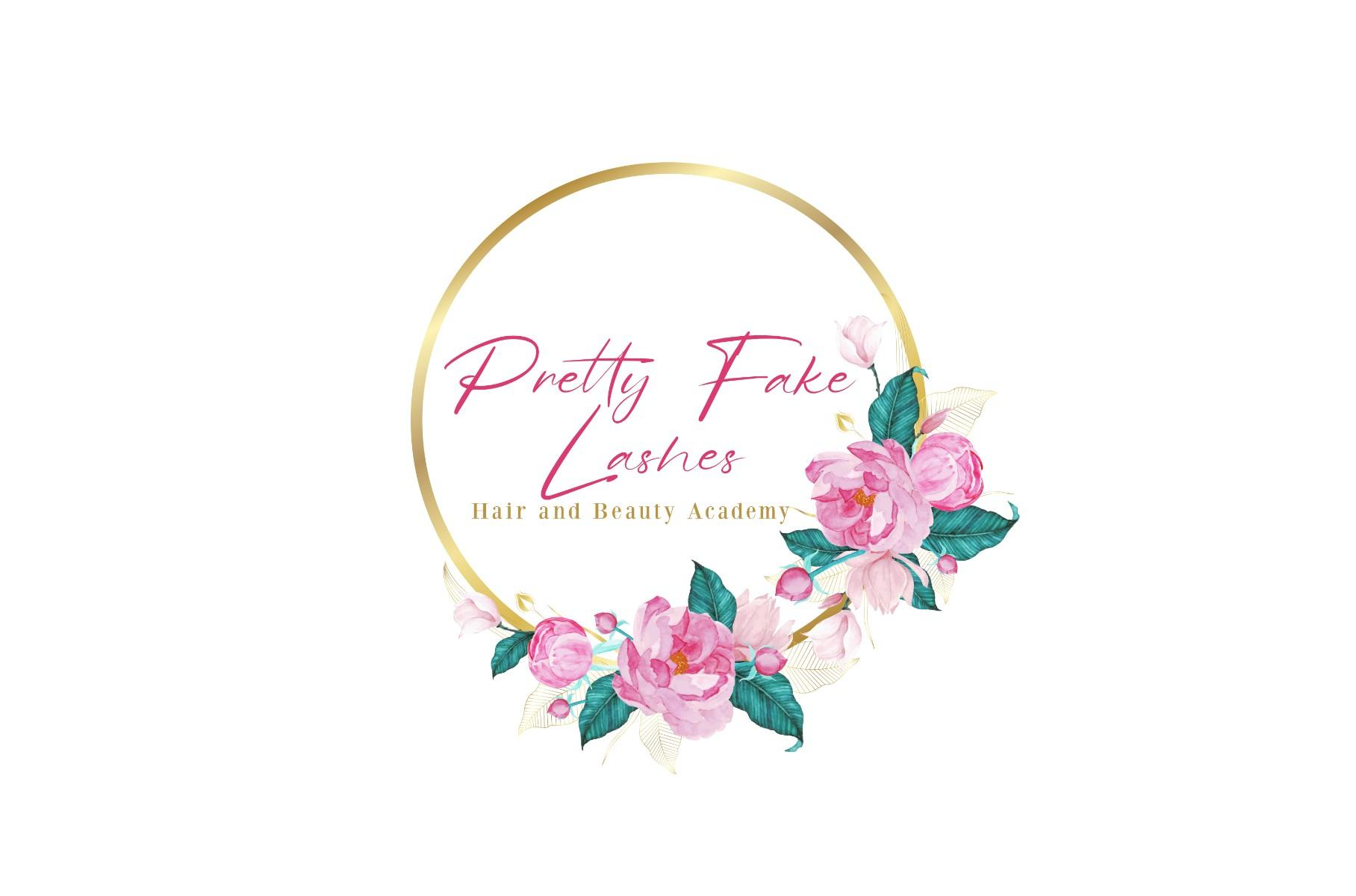 Pretty Fake Lashes logo